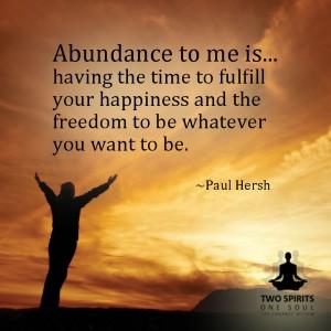 abundance-is