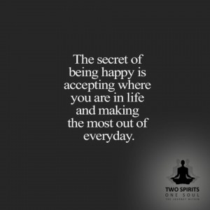 the-secret-of-being-happy-is