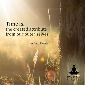 time-is-the-created-attribute-from-our-outer-selves